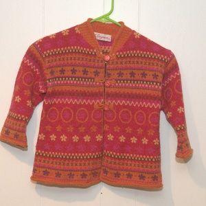 Girls Clayeux Beautiful French Sweater - size 6